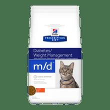 Hills Prescription Diet M/D Manejo De Peso / Diabetes 4 Lib