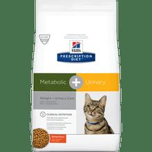 Hills Prescription Diet Metabolic + Urinary Reducción De Peso / Cuidado Renal 6.35 Lb