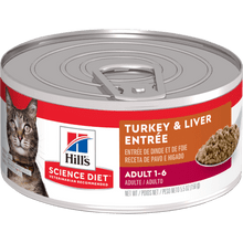 Hills Science Diet Adult Savory Turkey Entrée Lata 5.5 Onz
