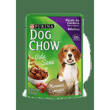 Comida Humeda Para Perros Dog Chow Picnic De Cordero Trozos Jugosos 100 Gr