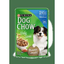 Comida Humeda Para Perros Dog Chow Festival De Pollo Trozos Jugosos 100 Gr