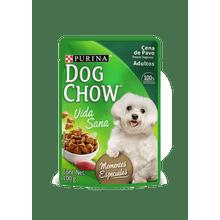 Comida Para Perros Dog Chow Cena De Pavo Trozos Jugosos 100 Gr