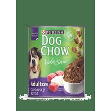Comida Humeda Para Perros Dog Chow Cordero Y Arroz 374 Gr