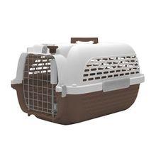 Guacal Transportador Perros Y Gatos Talla S Café