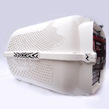 Guacal Transportador Perro Talla L Blanco