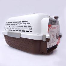 Guacal Transportador Para Perros Talla Xl Café