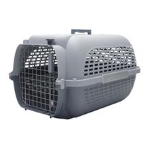 Guacal Transportador Para Perros Talla Xl Gris