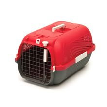 Guacal Para Gatos Catit Medium Rojo Cereza Talla M