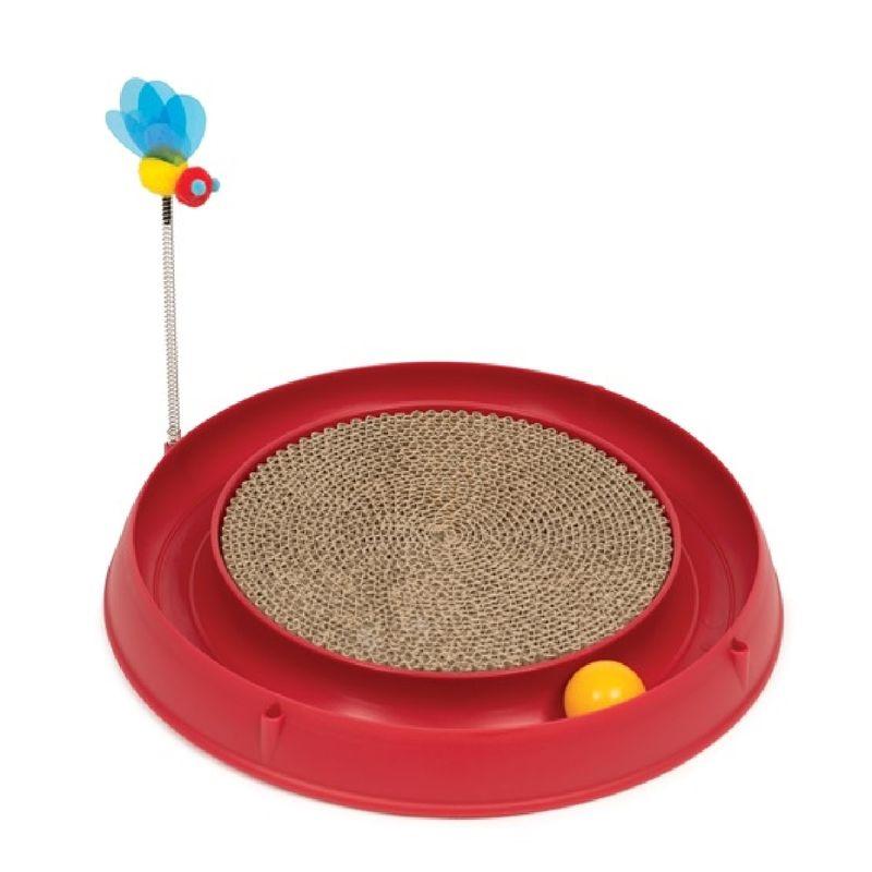 Juguete-Para-Gatos-Catit-Con-Rascador-Pelota-Rojo
