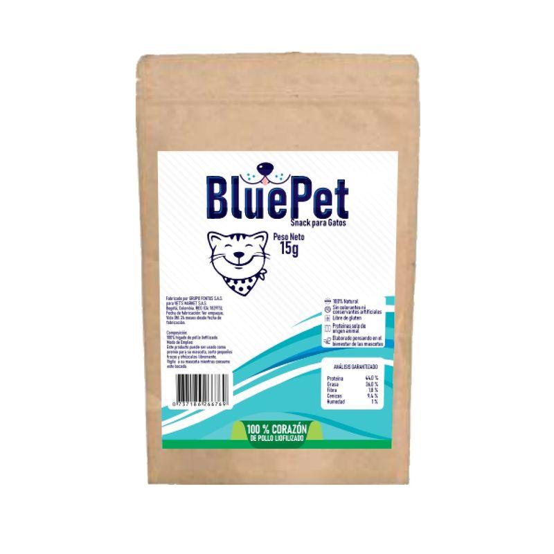 Snacks-Para-Gatos-Blue-Pet-Con-Corazones-De-Pollo-15-Gr