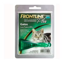 Antipulgas Para Gatos Frontline Plus Pipeta 0.5 Ml