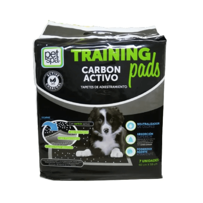 Tapete-Para-Perros-Trainning-Pads-Carbon-Activo-X-7-Unidades