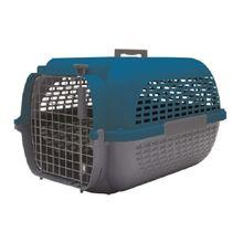 Guacal Para Perros Dogit Voyageur Tapa Azul Talla M