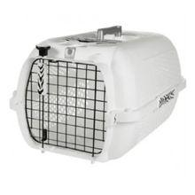 Guacal Transportador Para Perros y Gatos Talla S Blanco