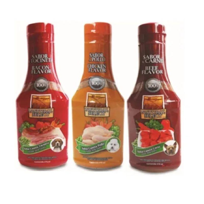 Salsa-Snack-Para-Perros-Natural-Select-X-3-Sabores-Surtidos