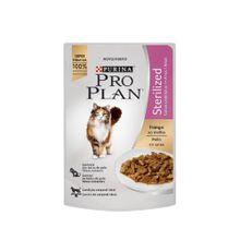 Comida Para Gatos Pro Plan Wet Cat Sterilized Chicken 85 Gr