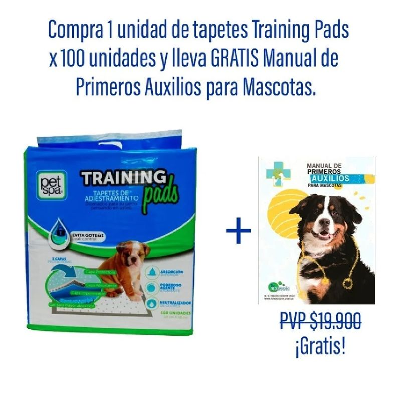 Tapete-Trainning-Perros---Manual-Primeros-Auxilios-Mascotas