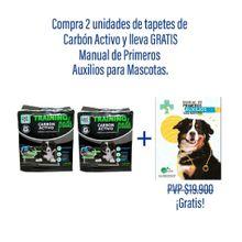Compra Tapete Carbon Activo Perros 14 Unidades Y Recibe Gratis Manual Primeros Auxilios Mascotas