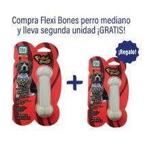Paga 1 Lleva 2 Huesos Para Perros Flexi Bone Medium